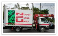 ピアノ運送用トラック